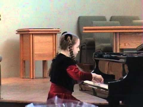 Anastasia Rizikov (10 years old) plays J. Haydn, Sonata in C major, Hob XVI 35, II & III movements