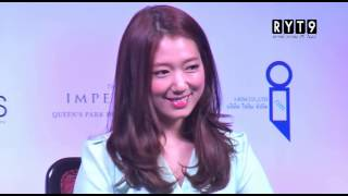 Interview - Park Shin Hye Asia Tour In Thailand