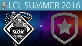 RoX vs Gambit.CIS, game 1