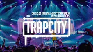 Calvin Harris, Dua Lipa - One Kiss (R3HAB & Skytech Trap Remix) [Lyrics]