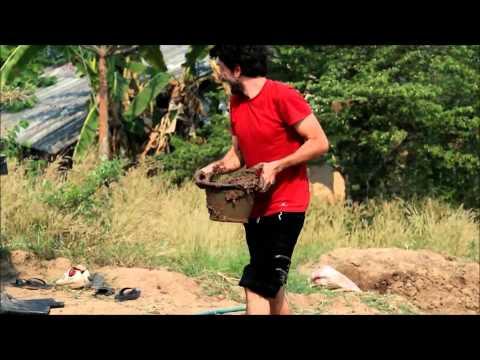 comment monter mur brique terre crue