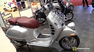 8. 2017 Vespa GTV 300 ie ABS Scooter - Walkaround - 2016 AIMExpo Orlando