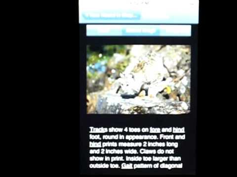 Video of MyNature Animal Tracks