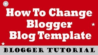 """Blogger Part 3 - Blogger Template/Theme Kaise Change Kare, Change blogger Templatehow to change blogger theme- Log in to your Blogger account.- Press Backup/Restore button located at the top right corner.- backup your existing template , """"Download full template"""" button.- Now search blogger templates.- Download your favorite templates.- Open Downloaded templates to notepad- Copy All Of Code And Past To Edit HTML- Now Click Save Button...NoCopyrightSounds: Music Without Limitations.Song: T-Mass - Bow and Arrow [NCS Release]Music provided by NoCopyrightSounds.Watch: https://youtu.be/xzX4PWZT3A0Download/Stream: http://ncs.io/BowandArrowYOFtb MadeSimple9662A,friendtechboard B662A,Friend Tech Board C662A,Exclusive Tutorial Videos And Unique Tips And Tricks By friendtechboard made simple, Share on Facebook and tag @friendtechboardConnect with Me on -Email: friendtechboard@gmail.comFacebook: https://facebook.com/friendtechboardInstagram: https://instagram.com/friendtechboardTwitter: https://twitter.com/friendtechboard"""