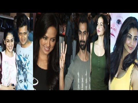 Ritesh,Genelia, Bobby & Others At Screening Of Movie Jai Ho