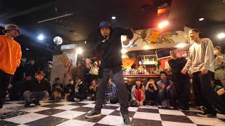 Mr.Baabee & 武蔵 vs Hiroki & Daiki – D.O.D FREESTYLE DANCE BATTLE vol.121 BEST4