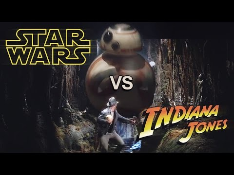 BB8 Chasing Indiana Jones