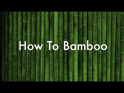 How To Process Bamboo Building Material DIY With Fire! Step By Step Harvest VLOG #31