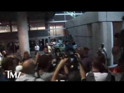 Jennifer Aniston Arriving at LAX