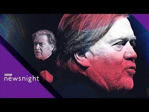FULL INTERVIEW: Trump's former chief strategist Steve Bannon- BBC News