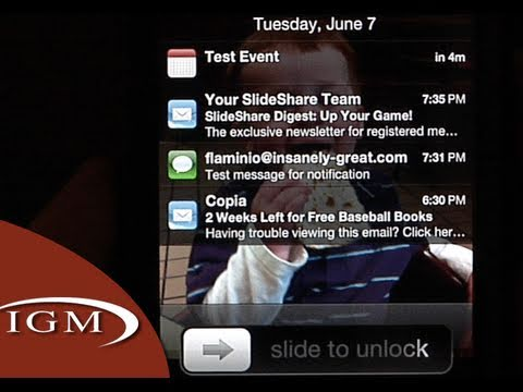 notification - A look at the upcoming Notification Center within the new iOS 5. The new system provides a centralized location for all app notifications. Also, the new syst...
