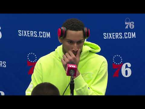 Ben Simmons   Postgame Media Availability vs Guangzhou Long Lions (10.8.19)