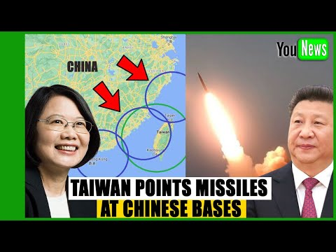 WHAT IS HAPPENING? Taiwan Points Powerful New Missiles At Chinese Bases