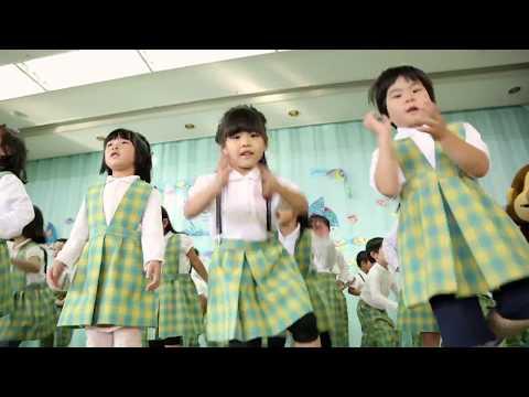 日本全国でレッツ☆うみダンス in 札幌白樺幼稚園のみなさん
