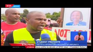 KTN Prime: Ongata Rongai Residents Protest The Death Of Four People On Langata Road, 29/09/2016