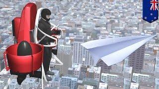 SF映画で見たような夢の乗り物 個人用飛行装置が登場