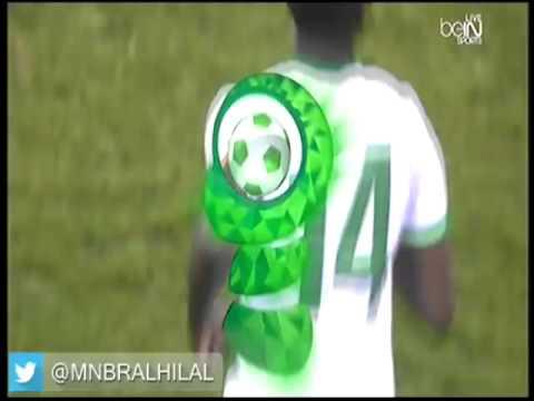 هدف السعودية الأول في قطر