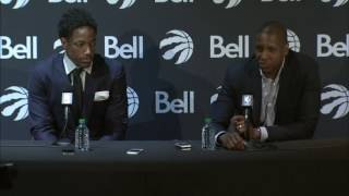 Ujiri: Nobody has more class and dignity than DeMar by Sportsnet Canada