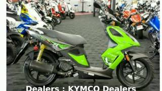 1. 2009 KYMCO Super 8 150 - Features, Specification