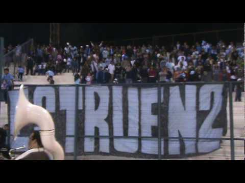 Video - la banda de la revo en la cancha - Furia Celeste - Deportes Iquique - Chile
