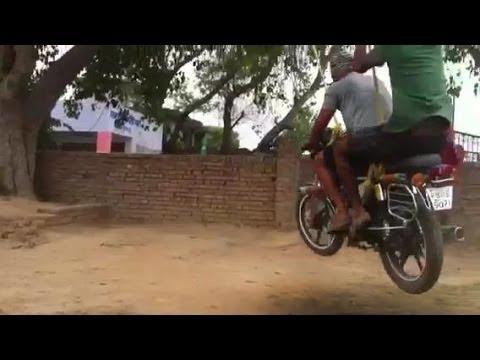 VIDEO: Como crear tu propio moto-columpio