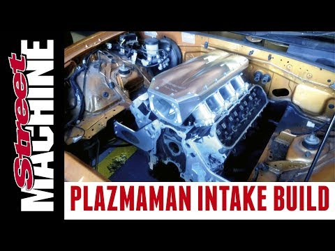 A Plazmaman billet LS intake is born!