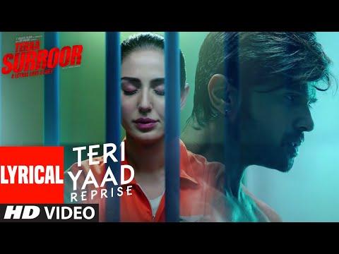 Lyrical: TERI YAAD (REPRISE)  | TERAA SURROOR | Himesh Reshammiya, Farah Karimaee | T-Series