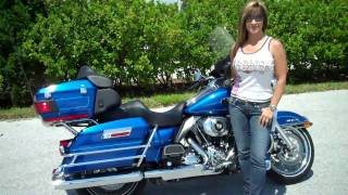 7. 2009 FLHTCU ULTRA CLASSIC ELECTRA GLIDE HARLEY-DAVIDSON For Sale Used Pre Owned Orlando Tampa