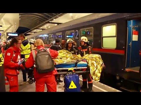 50 Verletzte am Salzburger Hauptbahnhof nach Zugunglü ...