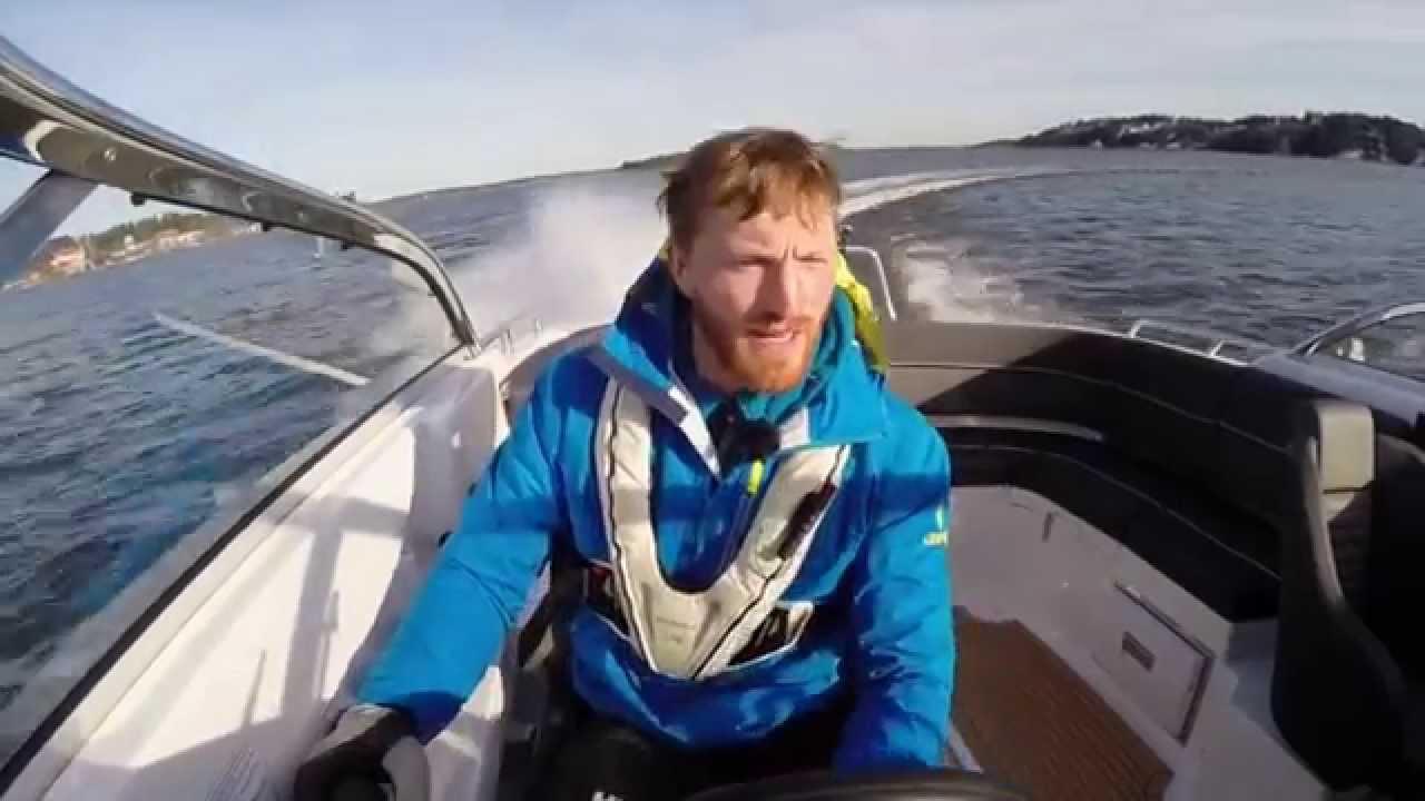 Морской катер, финский боурайдер AMT 230 BR – Обзор катера от шведских экспертов