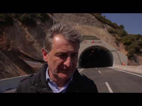 Video - Αθήνα - Πάτρα: Στην κυκλοφορία οι σήραγγες, έτοιμος κατά 95% ο δρόμος