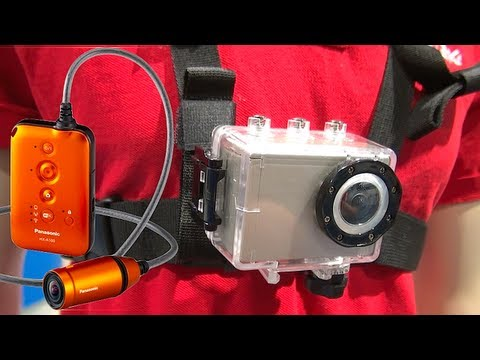Blunty Previews the Panasonic HX-A100 Wearable Action Camera