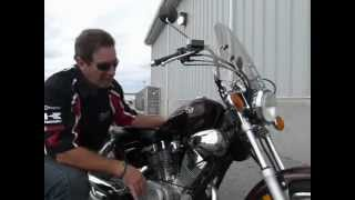 1. 2009 Yamaha V Star 250 Stock #9-7666 demo ride & walk around @ Diamond Motor Sports