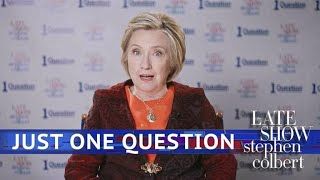 Video Just One Question With Hillary Clinton MP3, 3GP, MP4, WEBM, AVI, FLV Oktober 2018