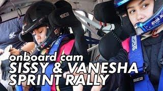 Video Balapan Pertama Sysiio & Vanesha | Banteng Motorsport Sprint Rally 2018 | Onboard Cam MP3, 3GP, MP4, WEBM, AVI, FLV September 2018