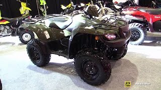 4. 2015 Suzuki Kingquad 500 AXI Recreational Vehicle - Walkaround - 2014 St Hyacinthe ATV show