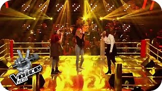 Video Ed Sheeran - Give Me Love (Lara, Chiara, Indra)   The Voice Kids 2016   Battles   SAT.1 MP3, 3GP, MP4, WEBM, AVI, FLV Mei 2018