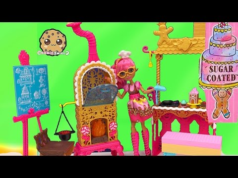 Ever After High Sugar Coated Kitchen Playset Ginger Breadhouse Doll Review Video