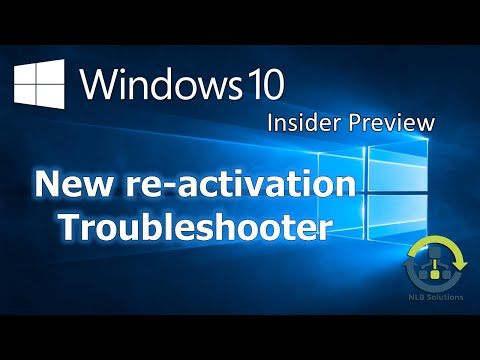 How to re-activate Windows 10 after a hardware change (Insider Preview)