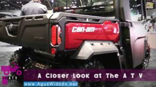 8. Can Am Defender XT Cab HD10 Utility ATV 2017 give your REVIEW & Opinion this All Terrain Vehicle