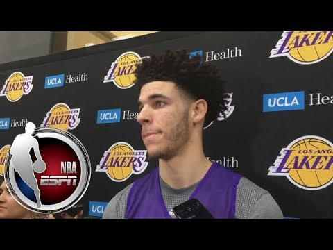 Video: Lonzo Ball discusses 'being ready to play' against Damian Lillard and D'Angelo Russell | NBA on ESPN