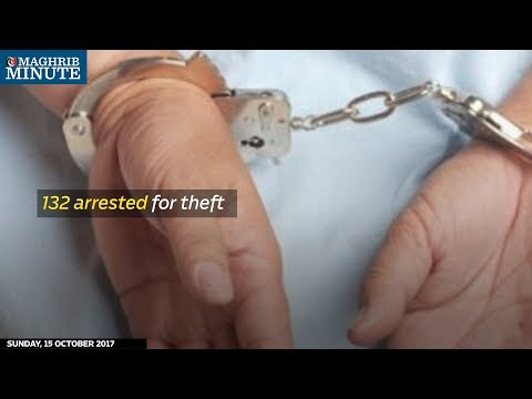 132 suspects were arrested for robbery cases in the entire month of September
