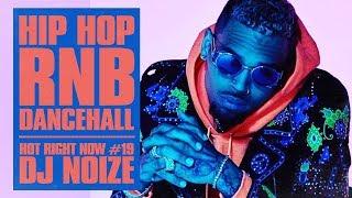 🔥 Hot Right Now #19  Urban Club Mix April 2018   New Hip Hop R&B Rap Dancehall Songs  DJ Noize