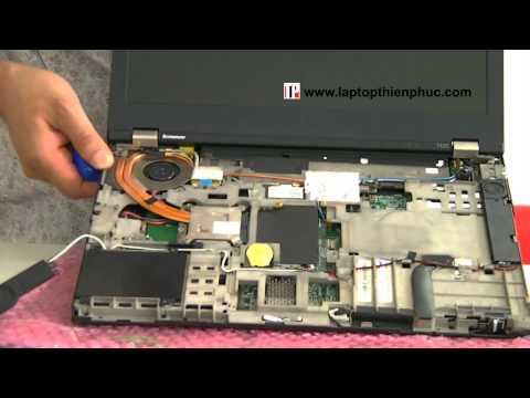 Hướng dẫn vệ sinh lắp ráp IBM THINKPAD T420 - Phần 2