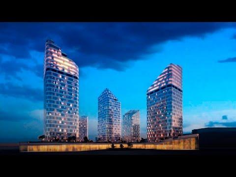 Концепция многофункционального комплекса в Новом центре Красноярска