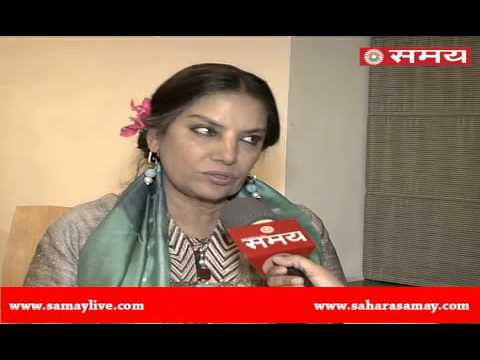 An exclusive interview with Shabana Azmi