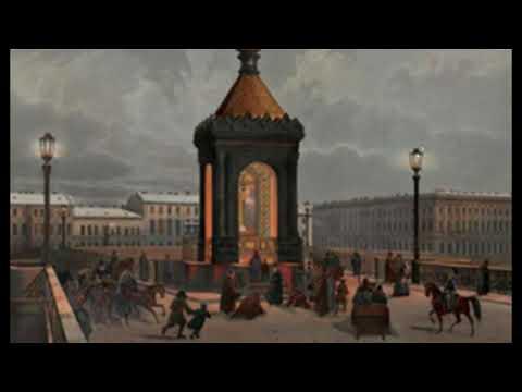 Радиовышки в Питере в 1840-х Фонари и часовни освещения. - DomaVideo.Ru