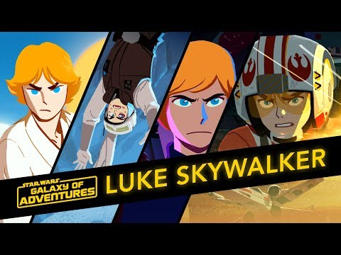 Luke Skywalker - The Journey Of A Jedi | Star Wars Galaxy Of Adventures