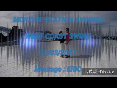 31/03/2017 MORZINE STATION AVORIAZ WEST COAT SWING (видео)
