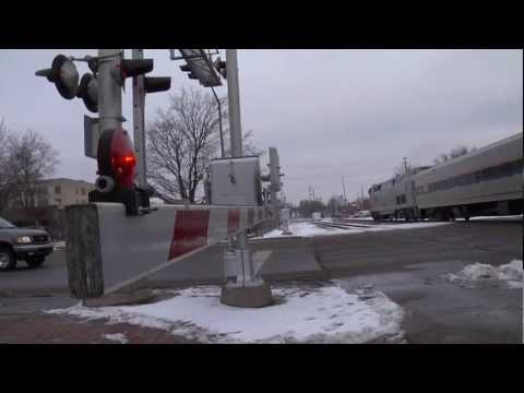 railroad crossing - MDOT partnered with Operation Lifesaver in creating this video urging motorists to pay close attention when approaching a railroad crossing. The video also p...